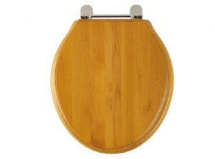 Roper Rhodes - Greenwich Soft Close Toilet Seat (Antique Pine) - 8099ASC